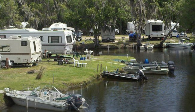 "Bull Creek Campground in western Flagler, the place the Observer's Jonathan Simmons briefly made famous, is away from the bustle and provides ""Florida nature as its finest,"" as a county tweet had it over the weekend."
