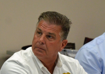 Bunnell Police Chief Tom Foster. (© FlaglerLive)