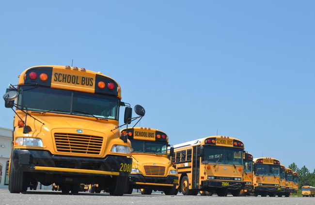 bus drivers pay increase flagler schools