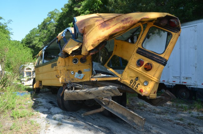 school bus wreck i-95