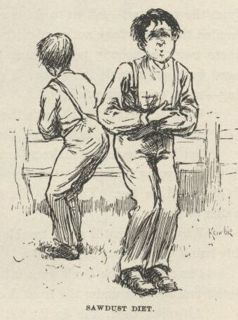 mark twain kemble illustrations huckleberry finn complete text