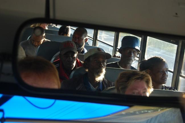 calvary christian center homelsss bus ministry