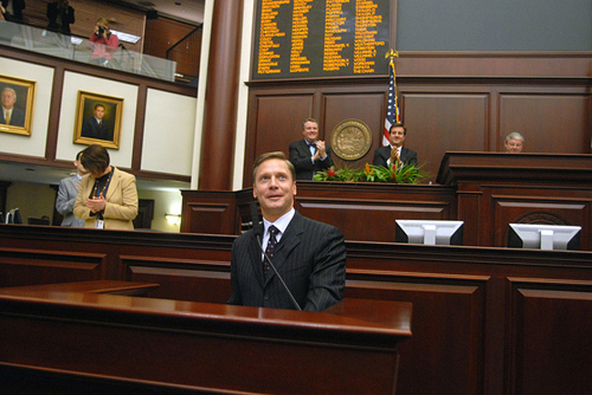 florida house speaker dean cannon health care reform law lawbreaker