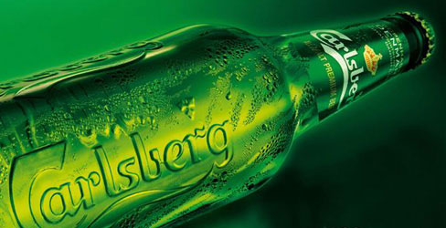 Carlsberg bottle and prohibition
