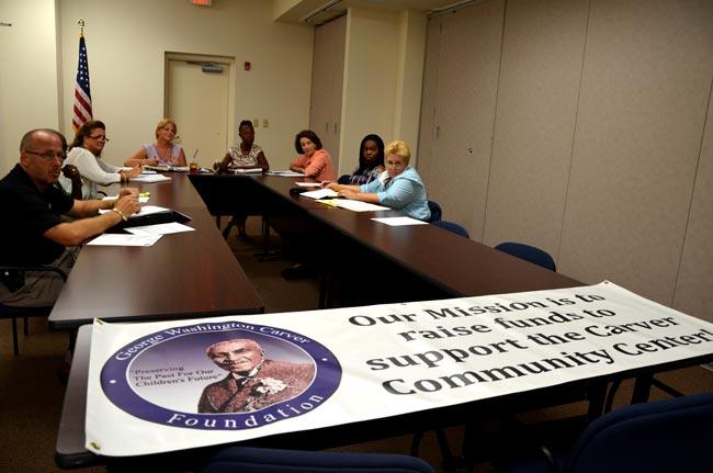 carver gym community center governance board