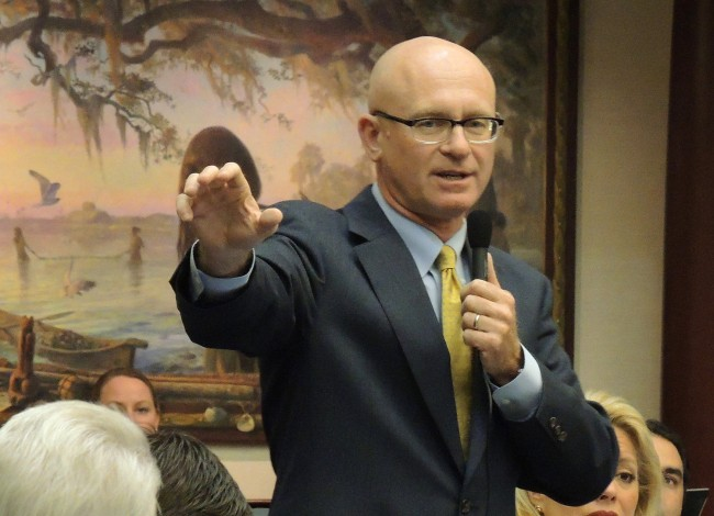Rep. Cary Pigman of Sebreing: federal deficits matter to him more than Florida's uninsured. (Mark Foley)