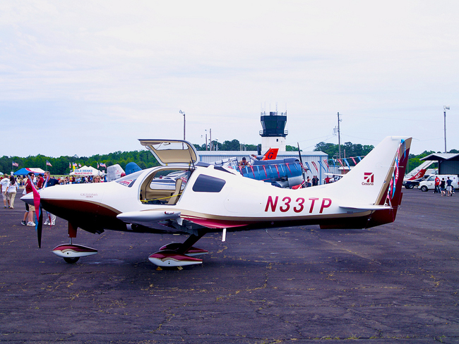 A Cessna 400 similar to the one that crashed in Palatka today. (Pyrrhos Papadopoulos)