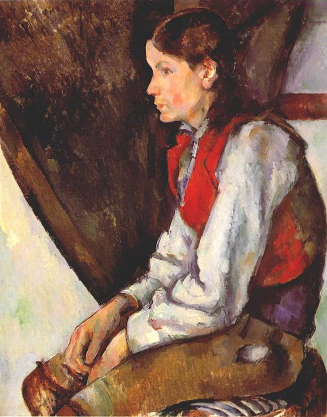 Cezanne's 'Boy in a Red Waistcoat' (1893-95)