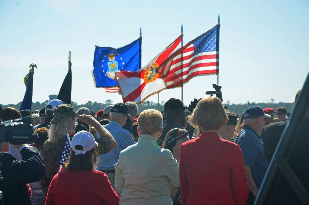 The Flagler Chamber of Commerce hosts a breakfast for veterans this morning. See below. (© FlaglerLive)