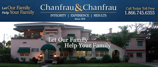 chanfrau and chanfrau attorneys personal injury daytona beach volusia flagler county palm coast