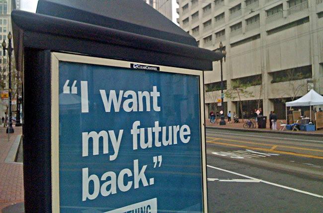 P:art of a Charles Schwab ad. (Jason Tester)
