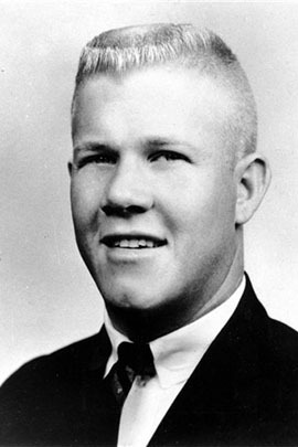 Charles J. Whitman, a 25-year-old student at the University of Texas in 1966, killed his mother and wife before unleashing a barrage of bullets from a tower on the campus of the University of Texas at Austin. (Wikipedia)