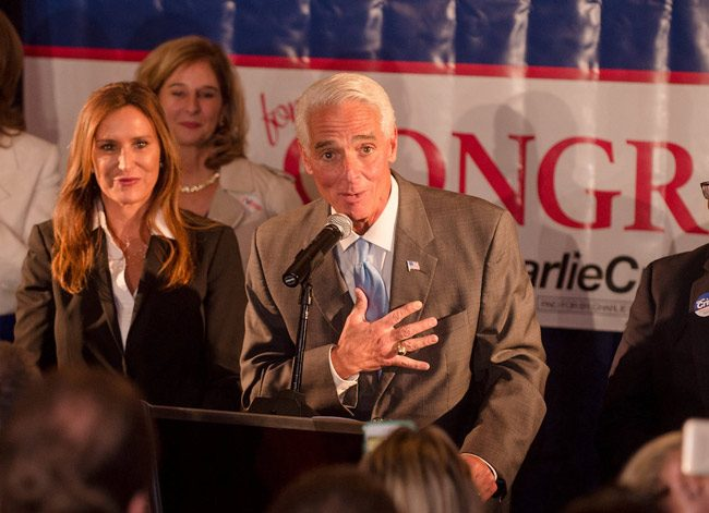 Happy Birthday Charlie Crist: the former governor and current congressman is 61 today. (Facebook)