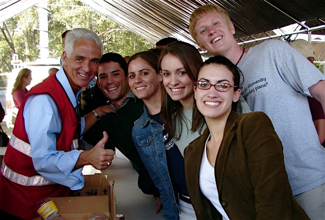 charlie crist at stetson