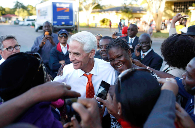 Charlie Crist's election will depend on a large turnout from minorities. (Facebook)