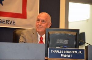 Commissioner Charlie Ericksen. (© FlaglerLive)