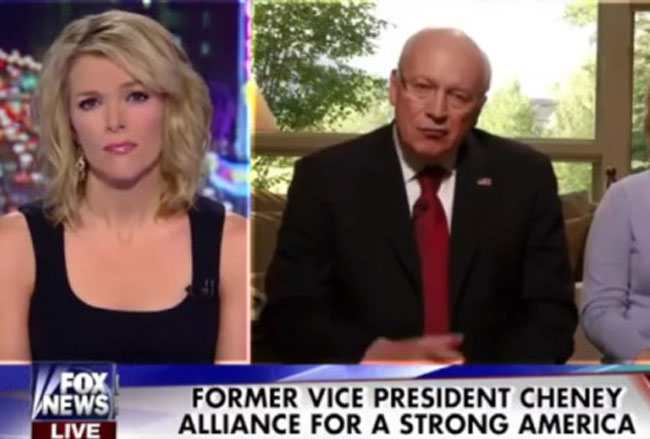Fox News's Megyn Kelly asked former Vice President Dick Cheney the sort of questions reporters normally ask.