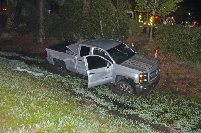 chevy pick-up crash