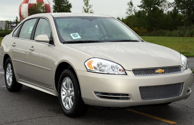 A Chevy Impala similar to the one that struck a 22-year-old cyclist on Florida Park Drive Tuesday evening, and drove away. (Wikimedia Commons)
