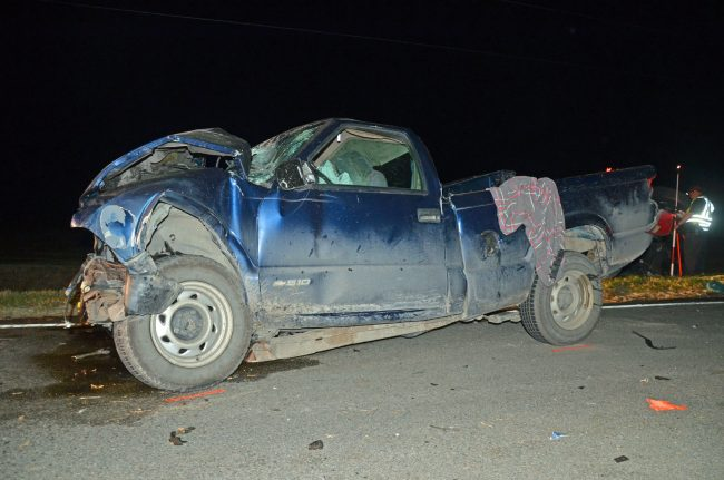 chevy wreck