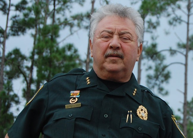 Chief Rick Look. (© FlaglerLive)