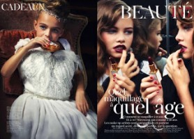 The Vogue spread that triggered France's reaction.