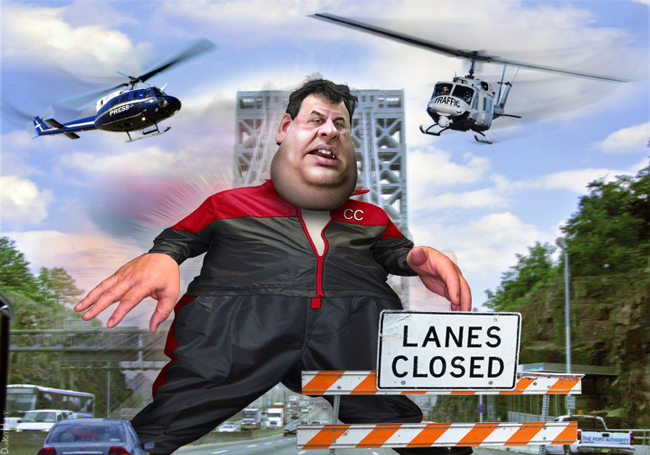 Chris Christie tops out. (DonkeyHotey)