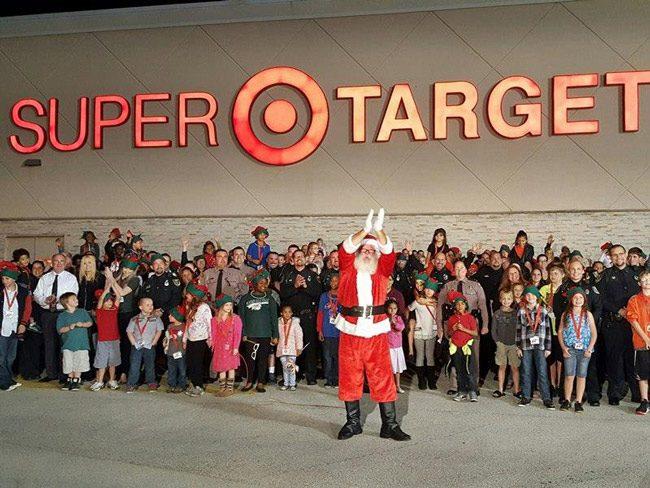 Children, cops and Santa, all converging on Target, lights and sirens blaring, Friday night at 6:30 p.m. for the 10th anniversary edition of Christmas With a Deputy. (Christmas With a Deputy)