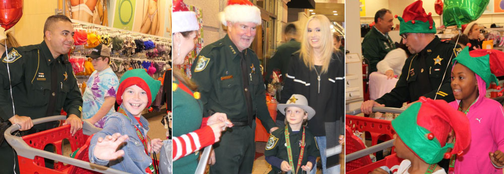Last year's Christmas With a Deputy at Target in Palm Coast. (FCSO)