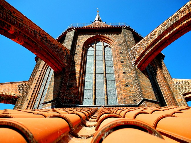 Church roof of the day. (Mathias Liebing)