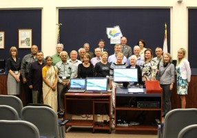 The latest graduates of the county's Citizens Academy. Click on the image for larger view.