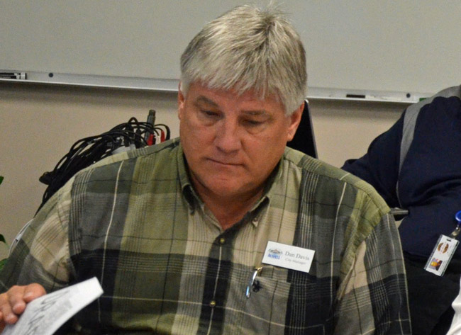 Bunnell City Manager Dan Davis apologized to his city clerk on Monday for a serious confrontation between the two. (© FlaglerLive)
