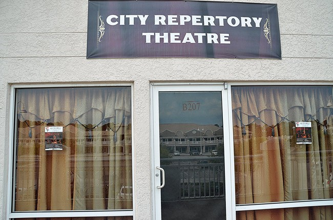 The only Palm Coast City Council member who's attended a City Repertory Theatre show--Jason DeLorenzo--commended the organization for its vitality and prolific production schedule. CRT qualified for a $3,000 grant from the city today. (© FlaglerLive)