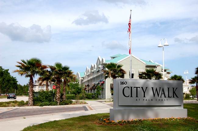 Palm Coast's City Walk in Foreclosure