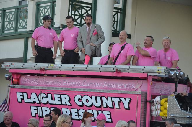 craig coffey pink army flag raiseing
