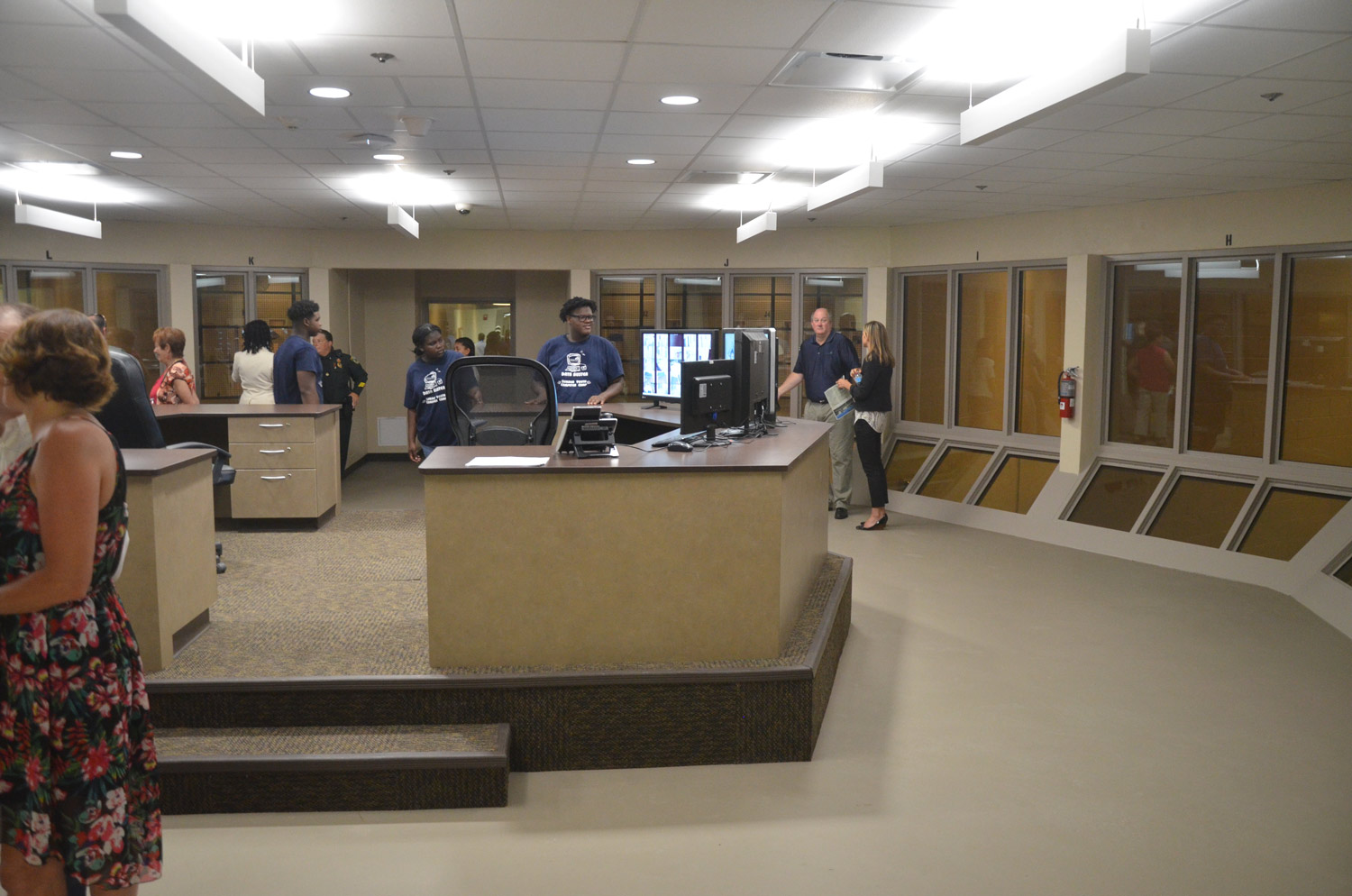 At Flagler's New Jail, Science of Self-Contained Cell Blocks
