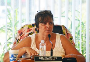 Flagler Beach City Commissioner Kim Carney