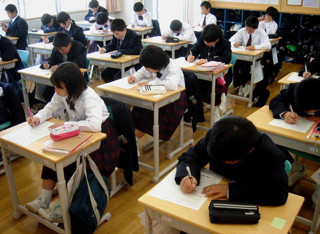 Common Core plays catch-up with the Far East, where schooling is stronger. (Angie Harms)