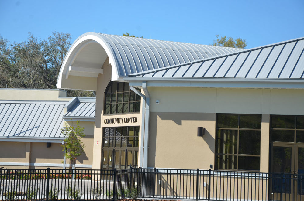 The Palm Coast Community Center reopens Monday. (© FlaglerLive)