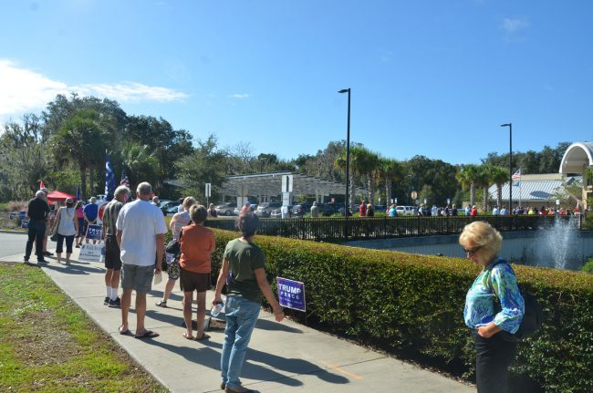 early voting at palm coast community center