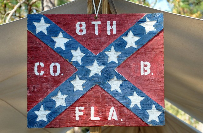 Florida law bars Confederates from inclusion in the he Florida Veterans' Hall of Fame. (WalterPro4755)