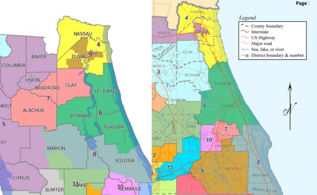 congressional districts flagler florida