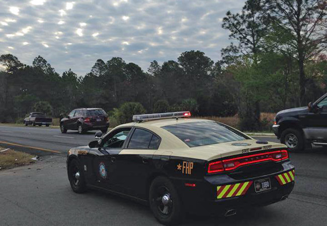 Cops from several local and state agencies are involved in the massive search just north of the Flagler-St. Johns County line.