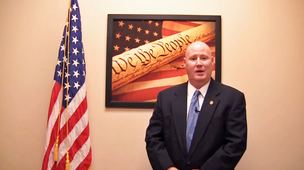 Brian Corley, a Republican, has been Pasco County's elections supervisor since 2007. (Pasco Supervisor's Office via YouTube)