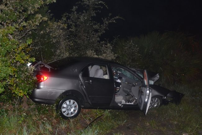 corolla crash old kings road