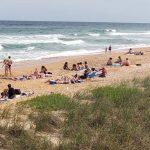 Visas to the virus: Flagler Beach this week. (© FlaglerLive)
