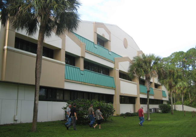 The school district's Corporate Plaza building, a 54,000-square-foot facility, has been an increasing burden since the school board acquired it for $3.5 million in 2001, and may now have to be demolished.