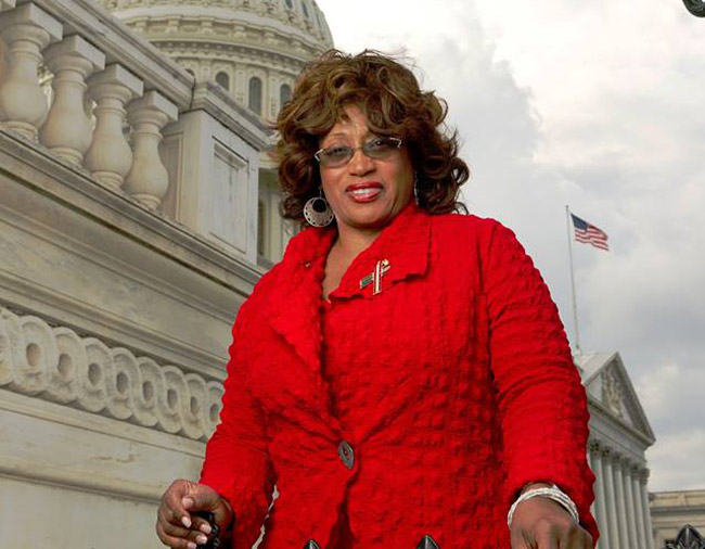'I really need your help,' Corrine Brown wrote in January 2016 to accompany a Facebook picture of her at the U.S. Capitol. Today, she was found guilty of fraud on 18 of 22 charges.