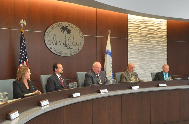 palm coast council salaries