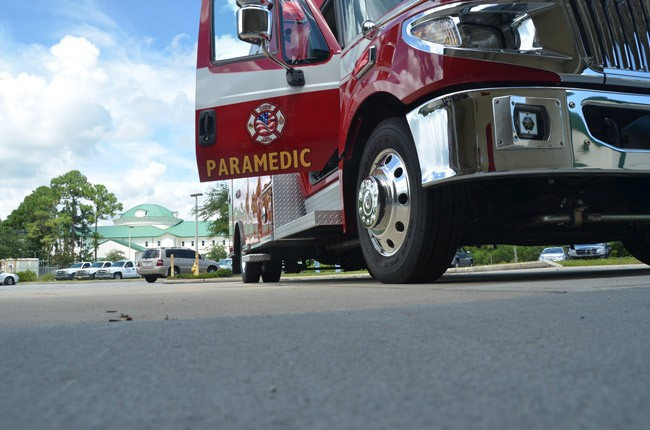 Some county commisisoners see no need for a meeting with Palm Coast over EMS matters, which they see as a non-issue. (© FlaglerLive)